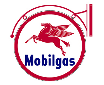 Double-sided Mobilgas Disk | Gasoline Merchandise