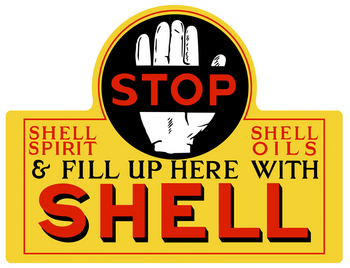 Shell Motor Oil | Foreign Signs