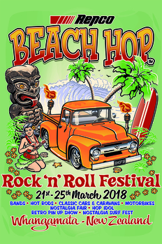 Beach Hop 2018 Poster | Event Signs