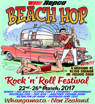 Beach Hop 2017 Poster | Event Signs