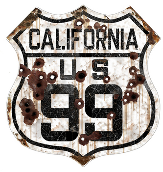 California 99 Route | Highway Signs