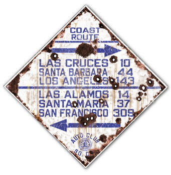 COAST-R  Coast Route | Highway Signs