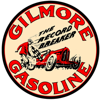 GILMORE GASOLINE | BUILD YOUR OWN  NEON CLOCK