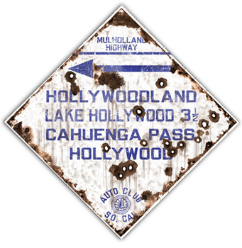 HOLLY-R  Hollywood Route | Highway Signs