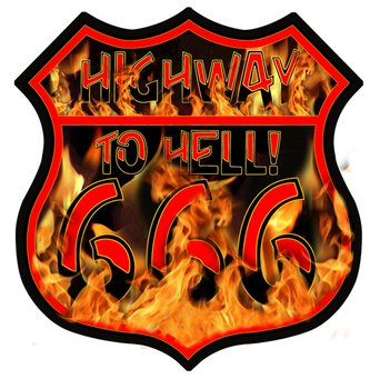 HWYHELL   Highway to Hell | Highway Signs