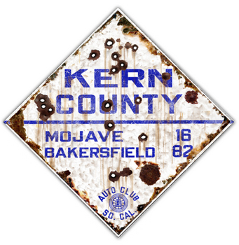 KERNCO-R  Kern County Route | Highway Signs