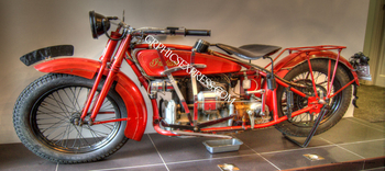 KV-170-P INDIAN MOTORCYCLE CRUISER | Panoramic HDR Photos