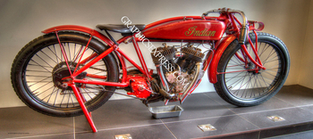KV-171-P INDIAN MOTORCYCLE | Panoramic HDR Photos