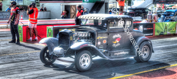 KV-225-P 5 WINDOW COUPE GASSER | Panoramic HDR Photos
