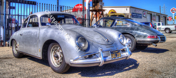 KV-237-P KRAMER JUNCTION PORCHE | Panoramic HDR Photos