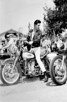 MC-1  Biker Elvis | Motorcycle Archives