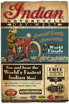 MC-8  110th Anniversary Poster | Motorcycle Archives