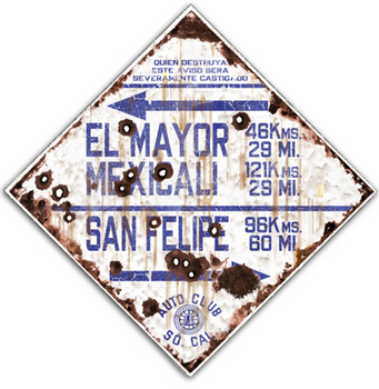 El Mayor Route | Highway Signs