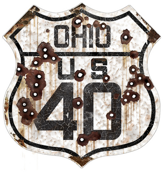 Ohio 40 Route | Highway Signs
