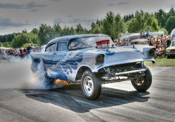 PM-2 57' GASSER BURNOUT | Misc Photographs