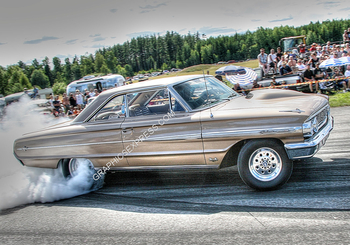 PM-6 GALAXIE GASSER BURNOUT | Misc Photographs