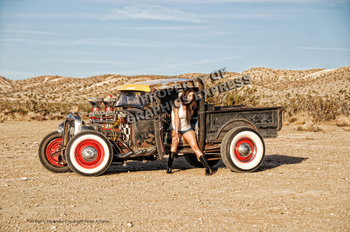 Rat Rod in Desert | Peter Torres