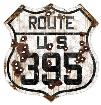 California 395 Route | Highway Signs