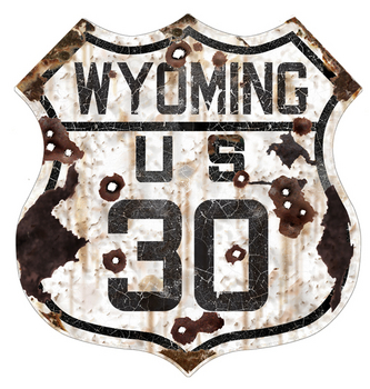 WY30-R  Wyoming 30 Route | Highway Signs