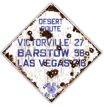 VICT-R  Desert Route | Highway Signs