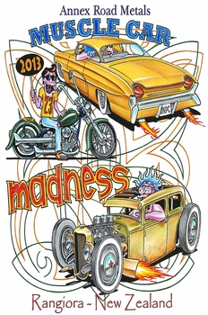 Muscle Car Madness 2013 | Event Signs