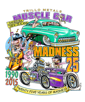 Muscle Car Madness 2015 | Event Signs