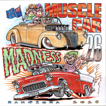 Muscle Car Madness 2016 | Event Signs