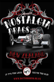 Dragster sign  | Event Signs