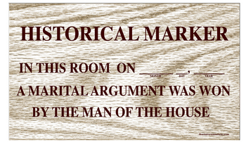 Historical Marker | Joke Signs