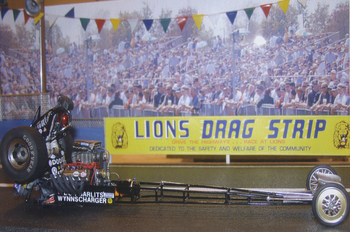Lion's Drag Strip | Mo Hernandez