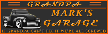 Grandpa's Garage | Product Catalog