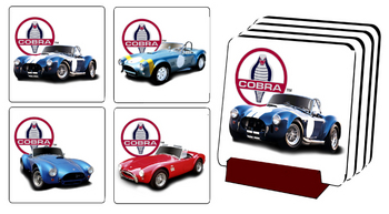 SC-32 COBRA COSTER SET #3 | Carroll Shelby