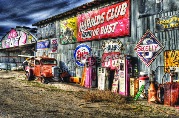 Motorcycle Shop Signs