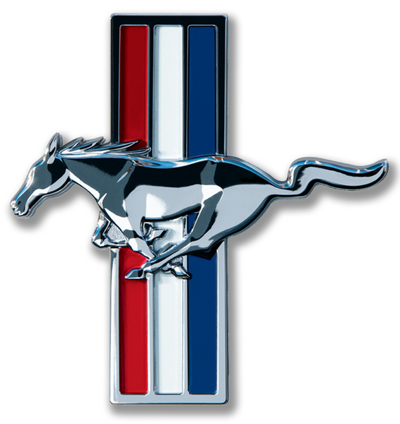 15 Quot Mustang Badge