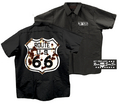 24-2D  Route 66 Workshirt