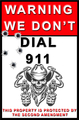 911 SIGN