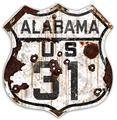 AL31-R  Alabama 31 Route