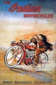MC-11   The Indian Motorcycle Poster