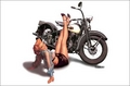 MC-36   Pinup Motorcycle