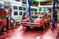 MR-28 Muscle Car Garage