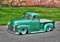 PM-8 GREEN CHEVY TRUCK