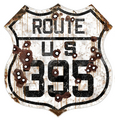 US395-R  California 395 Route