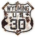 WY30-R  Wyoming 30 Route