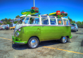 KV-238 VW HIPPIE BUS