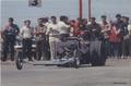 Dragster and Crowd