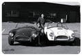 B&W Shelby with 2 Cars